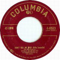 Cover Tony Bennett - Don't Tell Me Why (Pitie Senorita)