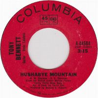 Cover Tony Bennett - Hushabye Mountain