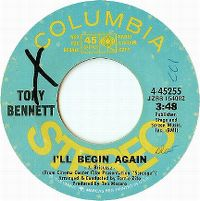 Cover Tony Bennett - I'll Begin Again