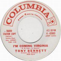 Cover Tony Bennett - I'm Comin' Virginia