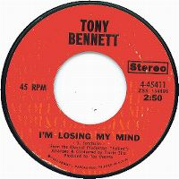 Cover Tony Bennett - I'm Losing My Mind