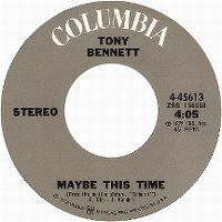 Cover Tony Bennett - Maybe This Time