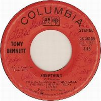 Cover Tony Bennett - Something