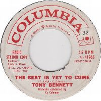 Cover Tony Bennett - The Best Is Yet To Come