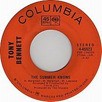 Cover Tony Bennett - The Summer Knows