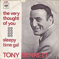 Cover Tony Bennett - The Very Thought Of You