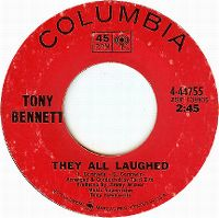 Cover Tony Bennett - They All Laughed