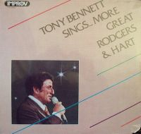 Cover Tony Bennett - Tony Bennett Sings... More Great Rodgers & Hart