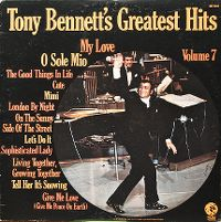 Cover Tony Bennett - Tony Bennett's Greatest Hits Volume 7
