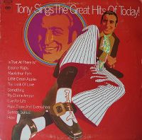 Cover Tony Bennett - Tony Sings The Great Hits Of Today