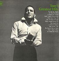 Cover Tony Bennett - Tony's Greatest Hits