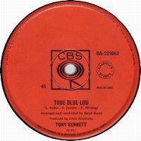 Cover Tony Bennett - True Blue Lou