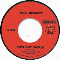 Cover Tony Bennett - Twilight World