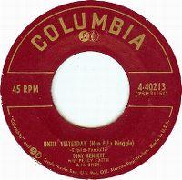 Cover Tony Bennett - Until Yesterday