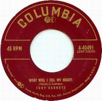 Cover Tony Bennett - What Will I Tell My Heart?