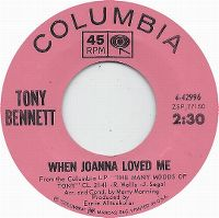 Cover Tony Bennett - When Joanna Loved Me