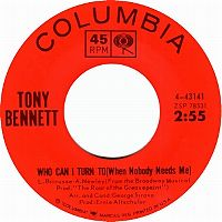 Cover Tony Bennett - Who Can I Turn To (When Nobody Needs Me)