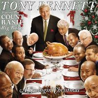 Cover Tony Bennett feat. The Count Basie Big Band - A Swingin' Christmas