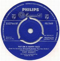 Cover Tony Bennett with Frank De Vol And His Orchestra - Put On A Happy Face