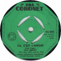 Cover Tony Bennett with Neal Hefti And His Orchestra - Ca, c'est l'amour