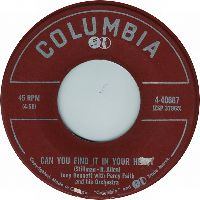 Cover Tony Bennett with Percy Faith And His Orchestra - Can You Find It In Your Heart