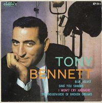 Cover Tony Bennett with Percy Faith & His Orchestra - Blue Velvet