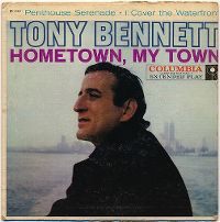 Cover Tony Bennett with Ralph Burns And His Orchestra - Penthouse Serenade