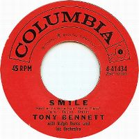 Cover Tony Bennett with Ralph Burns And His Orchestra - Smile