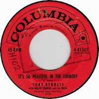 Cover Tony Bennett with Ralph Sharon And His Orchestra - It's So Peaceful In The Country
