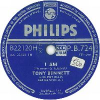 Cover Tony Bennett with Ray Ellis And His Orchestra - I Am