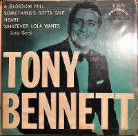 Cover Tony Bennett with Sid Feller And His Orchestra - A Blossom Fell