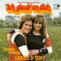 Cover Tony & Carole - Ich glaub' an Dich