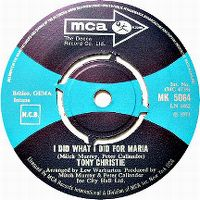 Cover Tony Christie - I Did What I Did For Maria