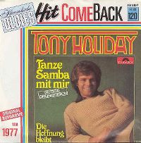 Cover Tony Holiday - Tanze Samba mit mir