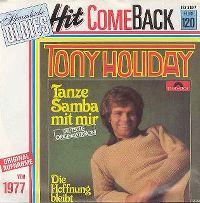 Cover Tony Holiday - Tanze Samba mit mir