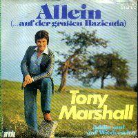 Cover Tony Marshall - Allein (...auf der großen Hazienda)