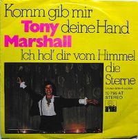 Cover Tony Marshall - Komm gib mir deine Hand