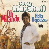 Cover Tony Marshall - Oh Miranda