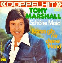 Cover Tony Marshall - Schöne Maid
