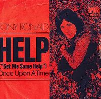 Cover Tony Ronald - Help (Get Me Some Help)
