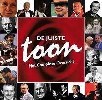Cover Toon Hermans - De juiste Toon - Het complete overzicht