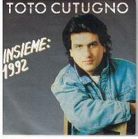 Cover Toto Cutugno - Insieme: 1992