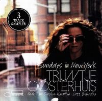 Cover Trijntje Oosterhuis feat. The Clayton-Hamilton Jazz Orchestra - Sundays In New York
