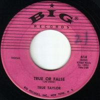 Cover True Taylor - True Or False
