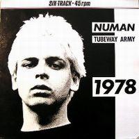Cover Tubeway Army - Numan  Tubeway Army  1978