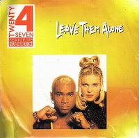 Cover Twenty 4 Seven feat. Stay-C and Nance - Leave Them Alone