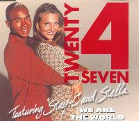 Cover Twenty 4 Seven feat. Stay-C and Stella - We Are The World