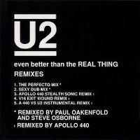 Cover U2 - Even Better Than The Real Thing (Remix)