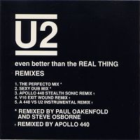Cover U2 - Even Better Than The Real Thing