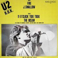 Cover U2 - Fire